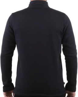 Sprayway Mens Minos Fleece Jacket Black Rear_View