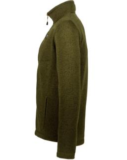 Sprayway Mens Minos Fleece Jacket Woodland Green Side View