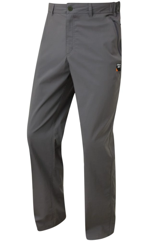 Sprayway Mens Compass Pant Carbon Grey Front