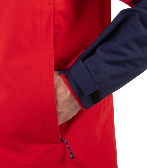 Sprayway Hain Waterproof Jacket Mens Red Pocket