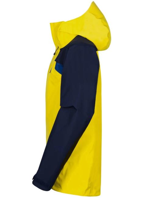 Sprayway Mens Torridon Waterproof Jacket Lightning Yellow Blazer Blue Yukon Side