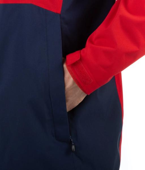 Sprayway Hergen Mens Waterproof Jacket Racing Red Blazer Blue Pocket