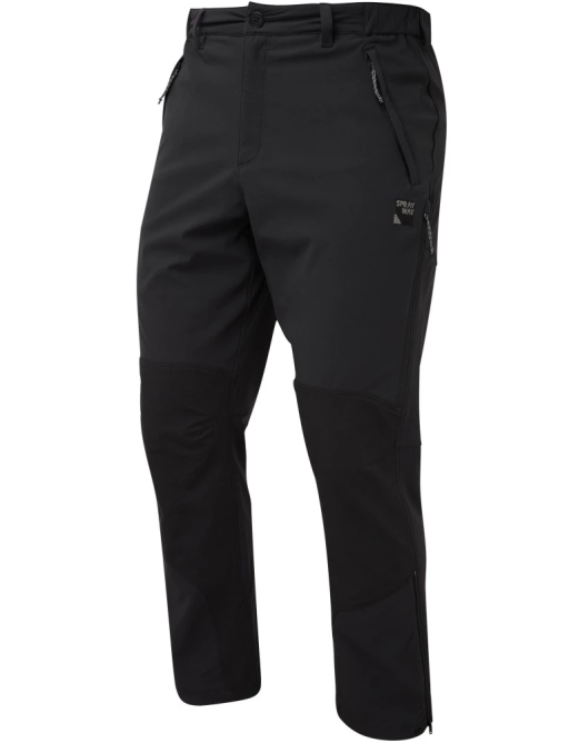Sprayway Mens Compass Pro Pants Black Front