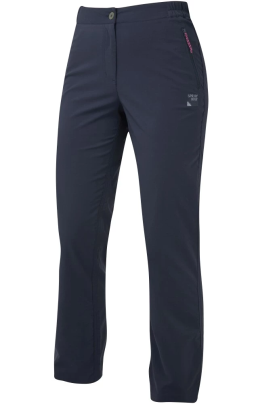 Sprayway Womens Escape Pants Black Front_1001.png