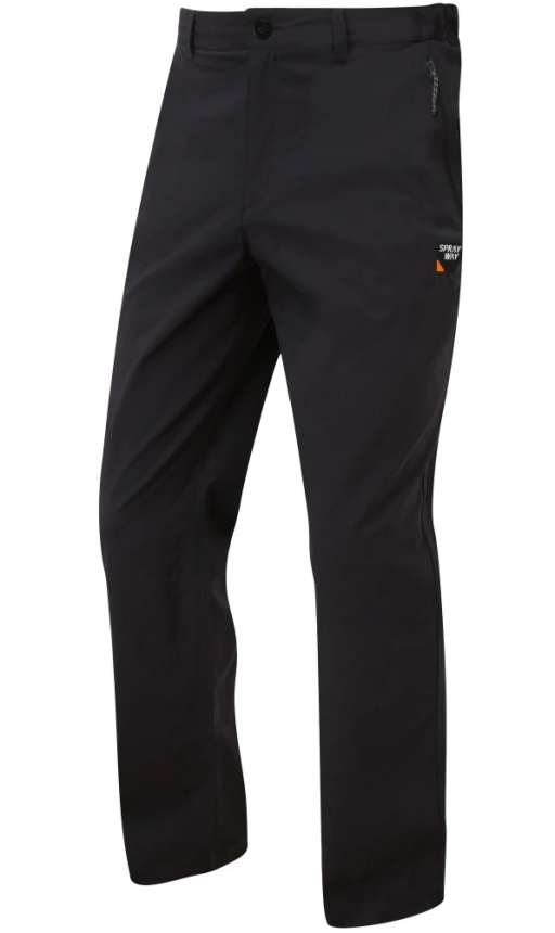 Sprayway Mens Compass Pant Black Front