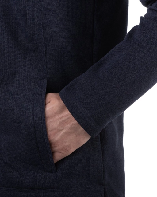 Sprayway Minos Fleece Jacket Mens Blazer Blue Pocket View