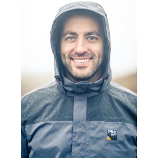 Sprayway Mezen Mens Waterproof Jacket Front head