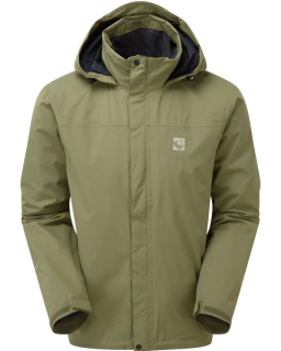 Sprayway Mezen  Mens Waterproof Jacket Lichen Green Front