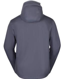 Sprayway Mezen Mens Waterproof Jacket Odyssey Grey Rear_1001.png