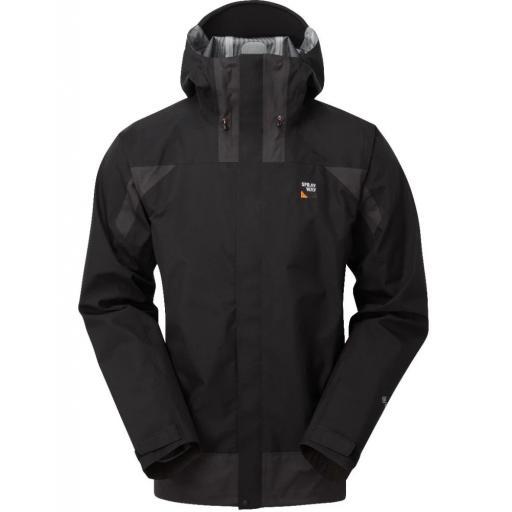 Sprayway Torridon Jacket | Mens Waterproof Gore-Tex Jacket - Black