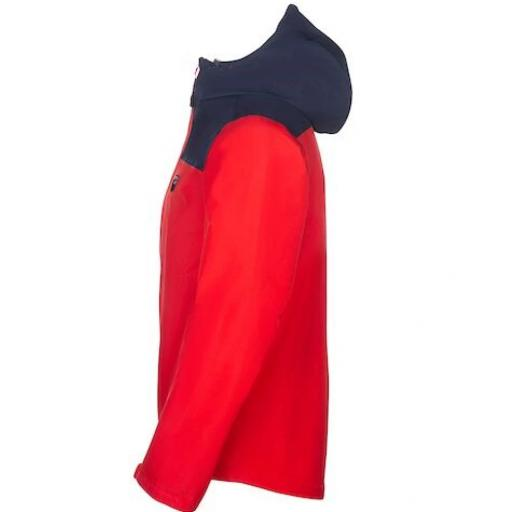 Sprayway Mens Rask Waterproof Jacket Racing Red Blazer Blue Side_1001.png