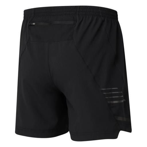 Ronhill Men's Stride 5 in Shorts Black Rear
