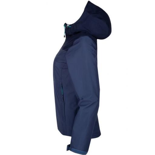 Sprayway Womens Waterproof Kelo Jacket Light Blazer Blue Blazer Side