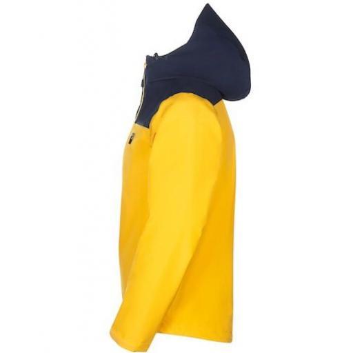 Sprayway Mens Rask Waterproof Jacekt Tugun Yellow Side