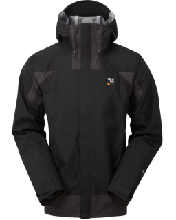 Sprayway Mens Torridon Waterproof Jacket Front Black Thunder