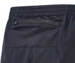 Ronhill Men's Stride black 5 in shorts rear pocket