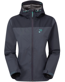 Sprayway Womens Waterproof Kelo Gore-Tex Jacket Light Blazer Blue Blazer Front