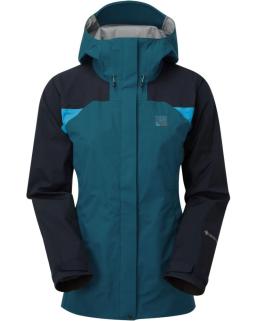 Sprayway Womens Torridon GTX Waterproof Jacket Lyons Blue blazer latigo Front