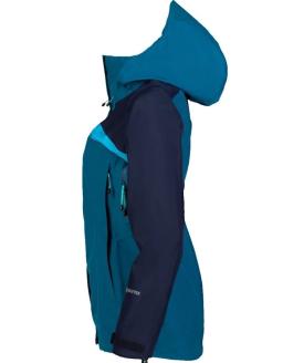 Sprayway Womens Torridon GTX Waterproof Jacket Lyons Blue Blazer Latigo Side