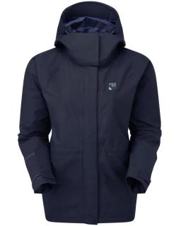 Sprayway Womens Vista Waterproof Goretex Jacket Blazer Blue Front
