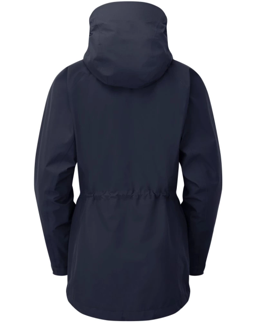 Sprayway Womens Vista Waterproof Goretex Jacket Blazer Blue Rear
