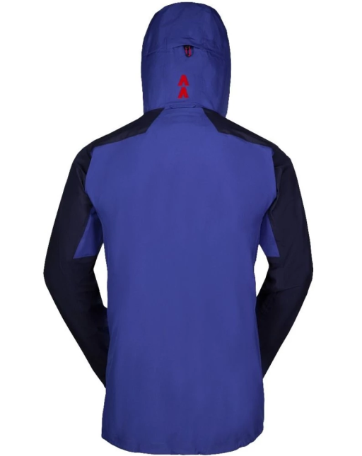 Sprayway Mens Torridon Waterproof Jacket Rear Yukon Blazer Racing