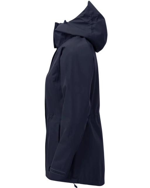 Sprayway Womens Vista Waterproof Goretex Jacket Blazer Blue Side