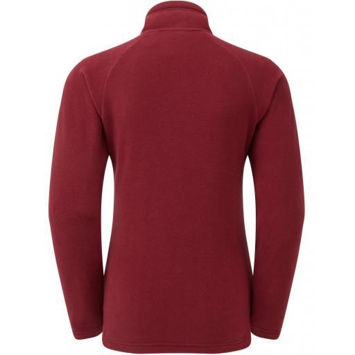 Sprayway Atlanta Fleece I.A Jacket Tempranillo Red Rear_1001.jpg