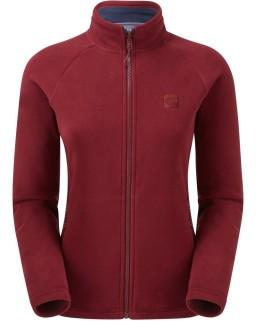 Sprayway Atlanta Fleece I.A Jacket Tempranillo Red Front_1001.jpg