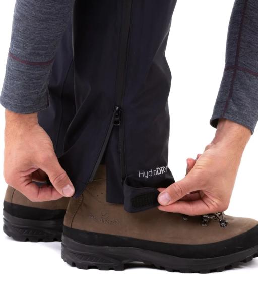 Sprayway Hydrolite Mens Rainpant Black Ankle detail