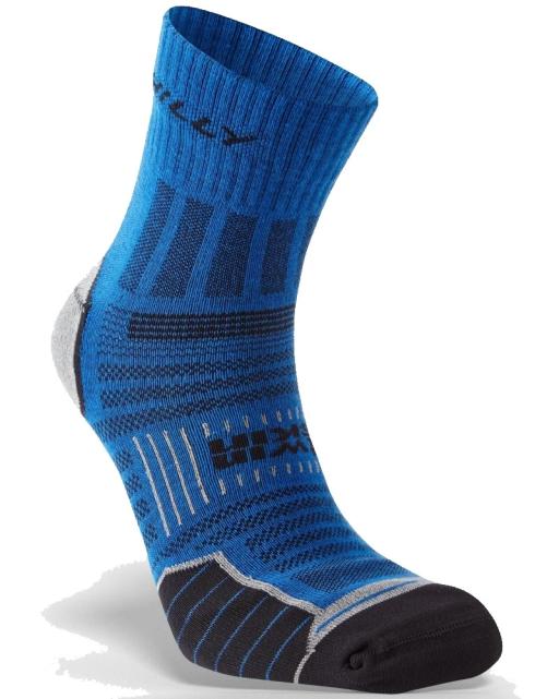 Hilly Twin Skin Socks Azurtie Grey Marl_A